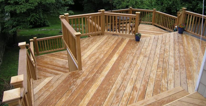 wood decking material
